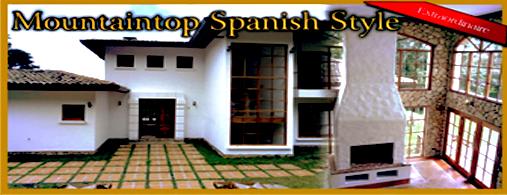 Mountaintop Spanish Style