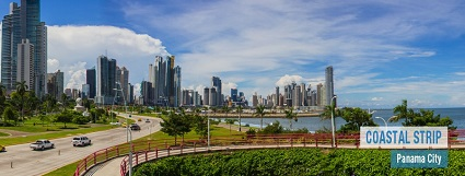 Panama city coastal strip 425