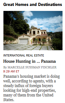 new york times boquete panama great homes