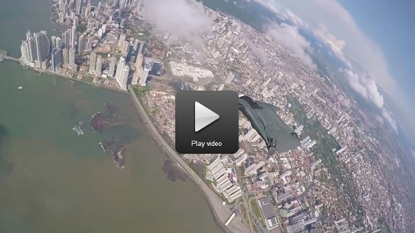 Panama city wingsuit ride video 600