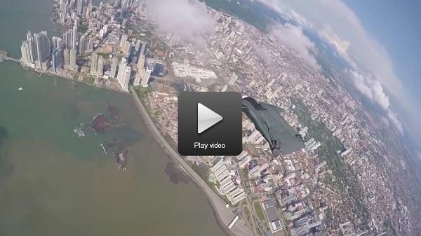 Panama city wingsuit ride video 600