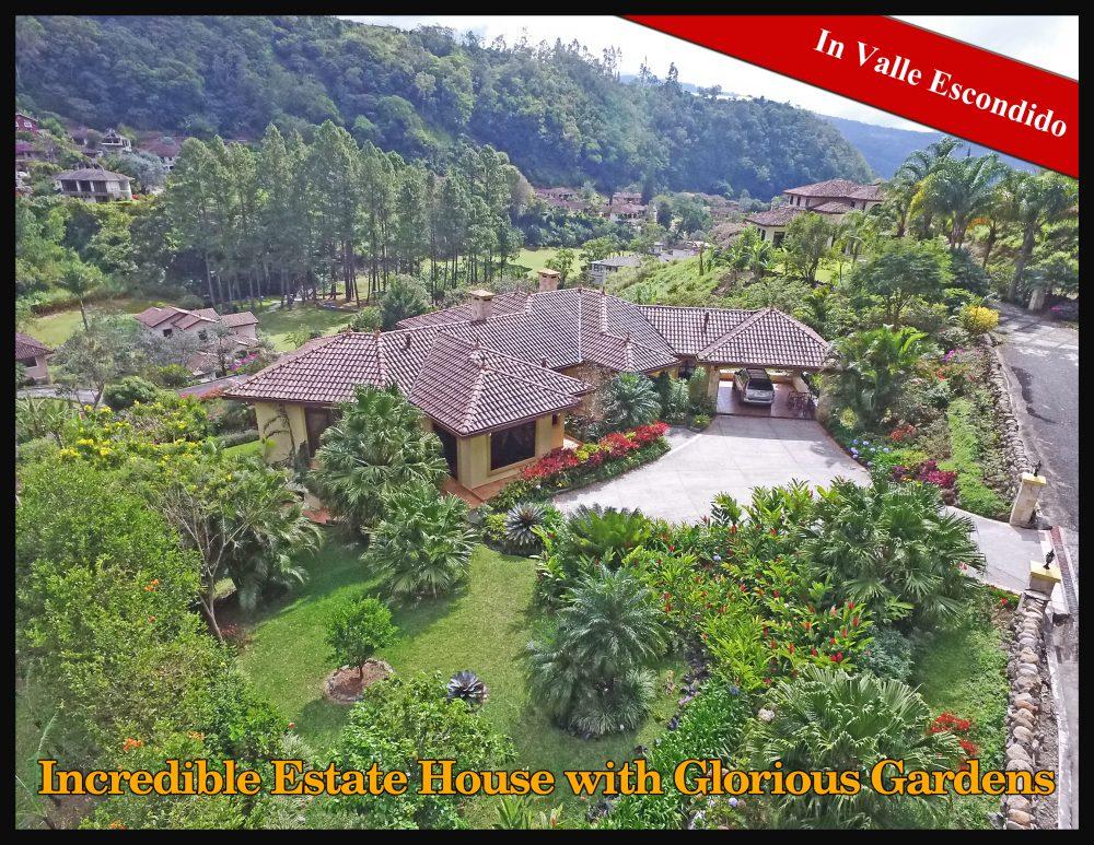 Panama houses archives boquete panama real estate for Casas con jardines bonitos