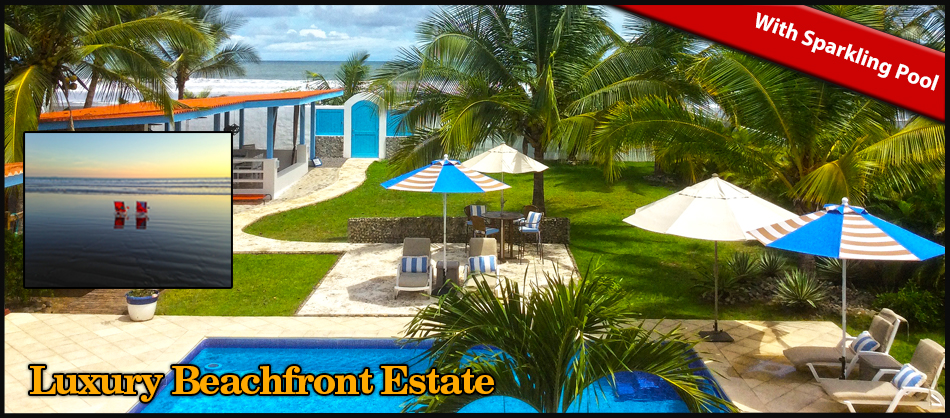 Luxury beachfront estate boquete panama real estate for Luxury beachfront property for sale