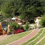 the ampitheater in Valle Escondido