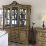 Display cabinet in sitting area